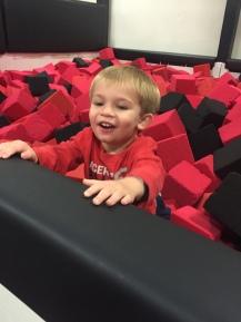 Dallas location toddler area
