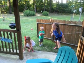 cousins having fun!
