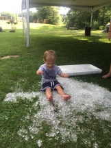 That's one way to cool off in MS!