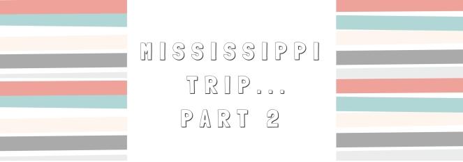 MISSISSIPPI ROAD TRIP (2)