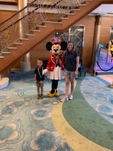 mom and t with minnie